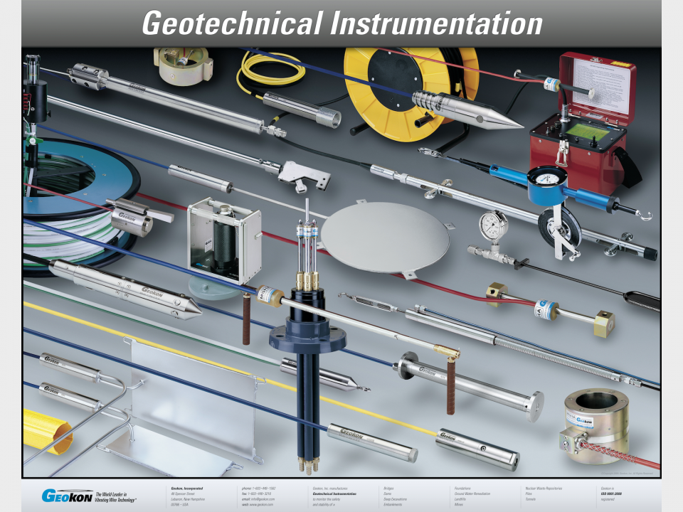 Supplying of Geotechnical & Environmental Instrumentation