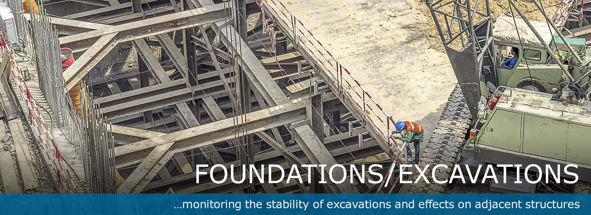 Geotechnical Instruments for Foundation Excavation