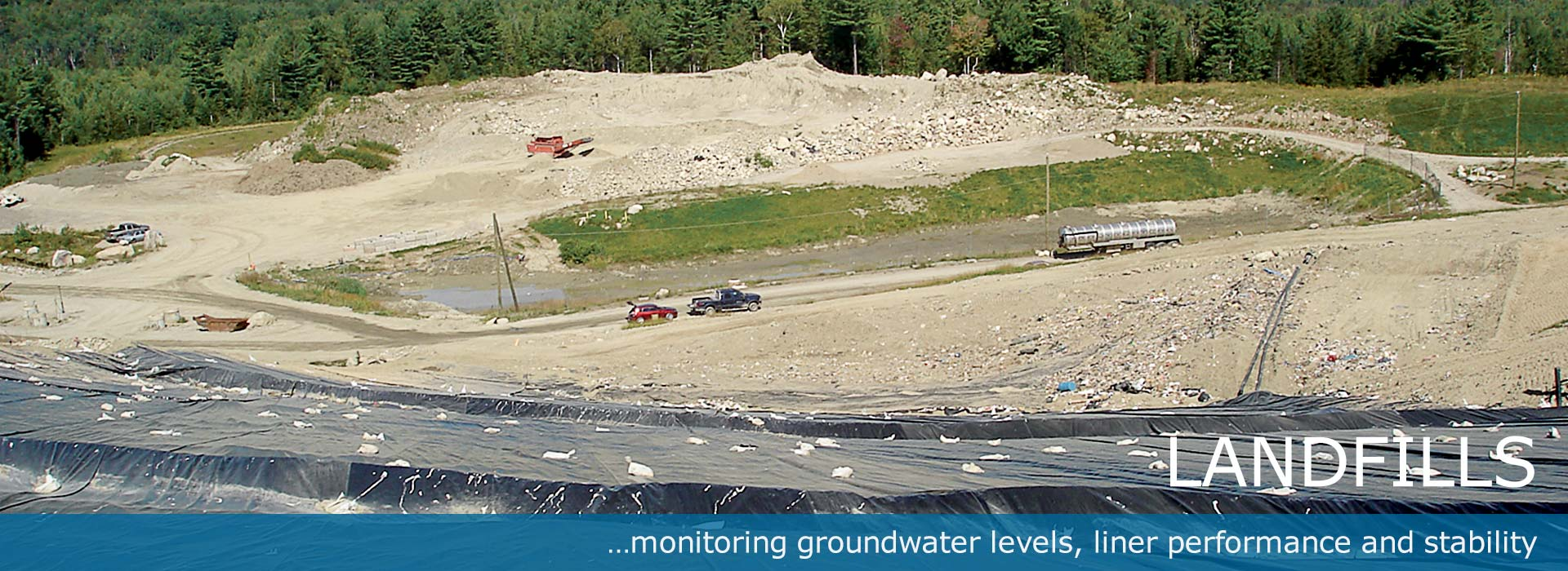 Geotechnical Instruments for Landfill